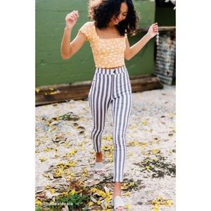 Urban Outfitters High Rise Stretch Pant